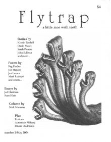 Flytrap issue 2 cover
